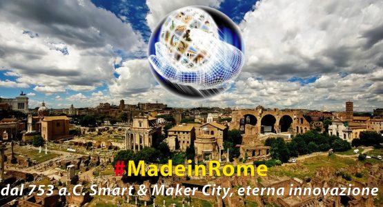 Insieme con il #MadeinRome per sviluppare Nuove Economie facendo emergere l'Identità Culturale di Roma !