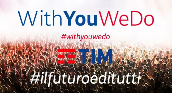 TIM con WithYouWeDo sostiene #MiR@bilys